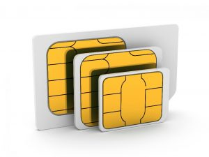 How does SIM card work
