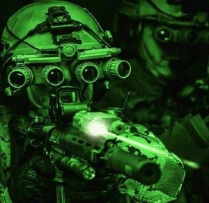 night vision glass work